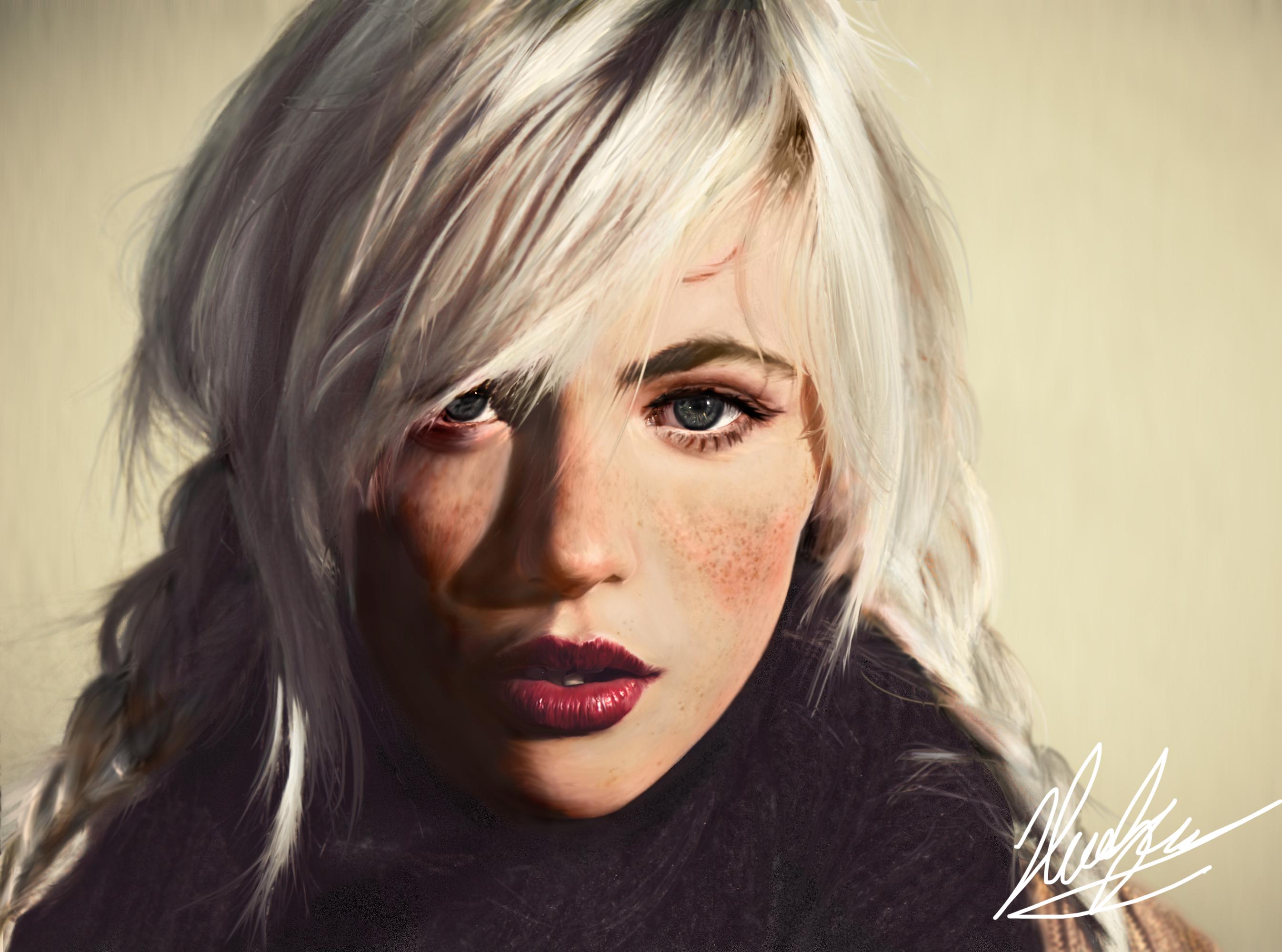 Digital Portrait 02 - Devon Jade by neoyurin on DeviantArt