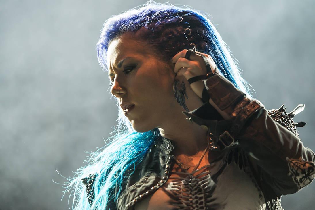 Arch Enemy 2015 Alissa White Gluz By Miha9000 On Deviantart