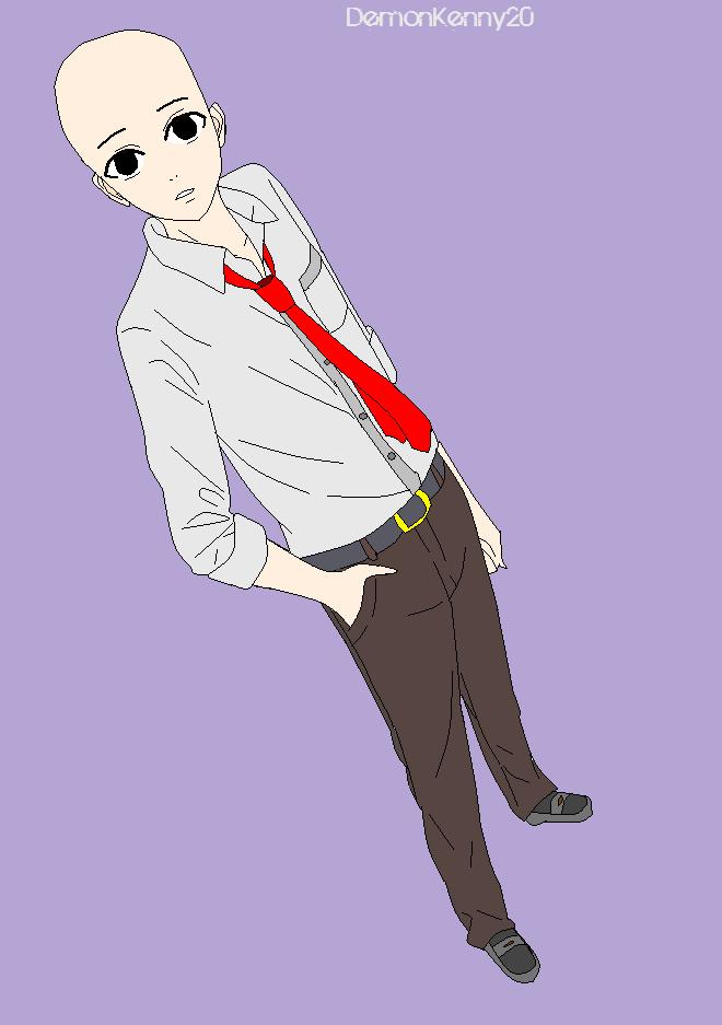 anime male base - 660×937