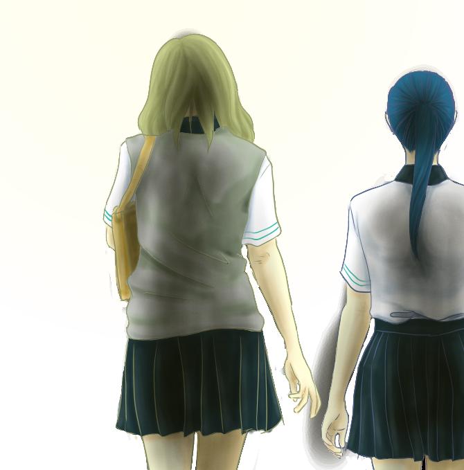 Reaching by mohoono-chan