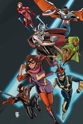 Avengers! Assemble! by NagseoNinja