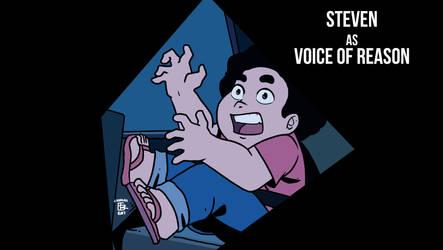 Steven the Voice of Reason by NagseoNinja