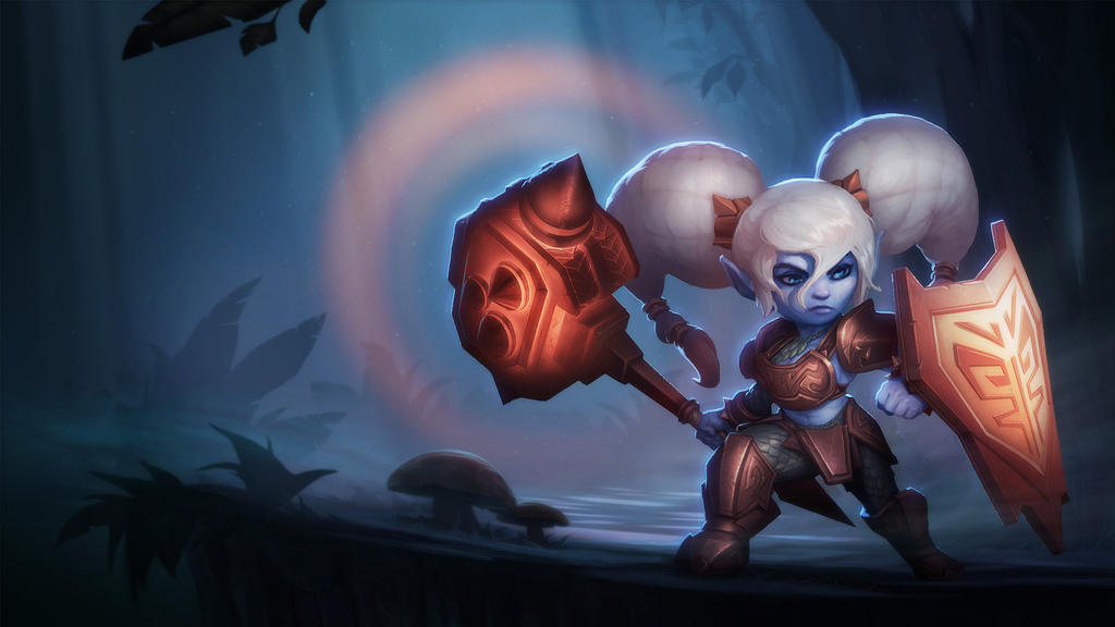 Fan Art : Poppy Visual Upgrade - League of Legend by littlepoop
