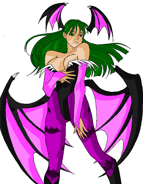 Morrigan by RickyBOB Recolored by alfonsord25