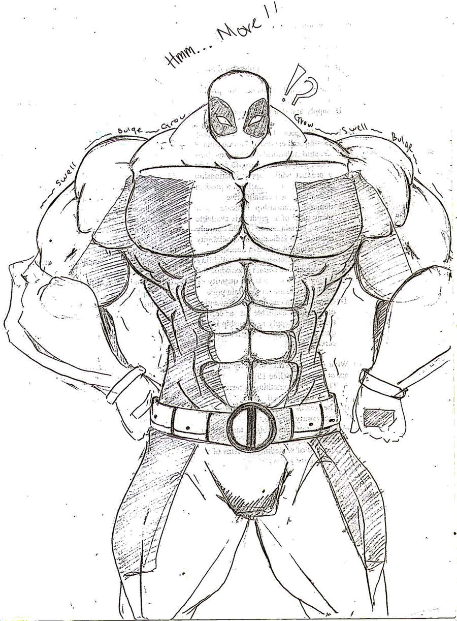 Deadpool Growth By Sent1n3l On DeviantArt