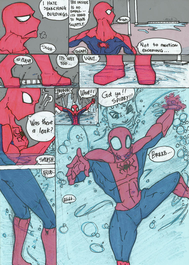 50 K Special: 3 Suits of Spidey (Red) Pg 1 by haggith