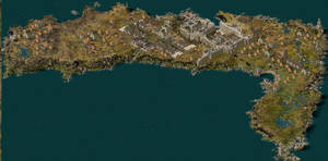 Rathin Island Map