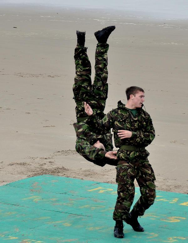 Royal Marines hand combat 4