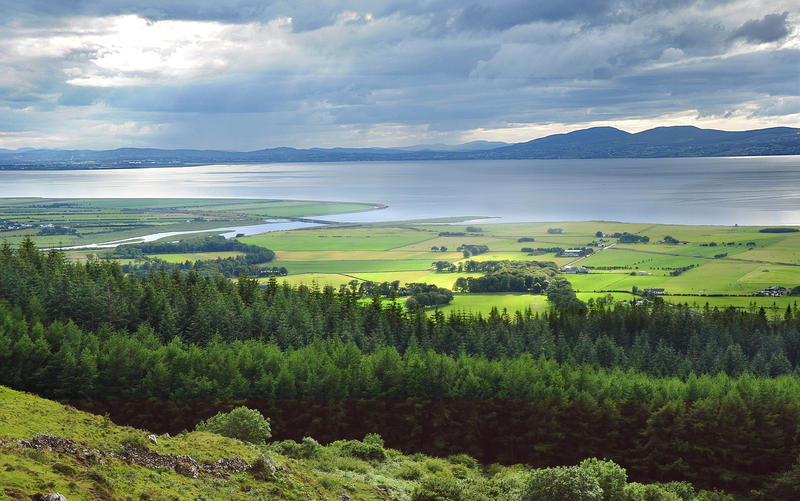 Lough Foyle from Binevenagh