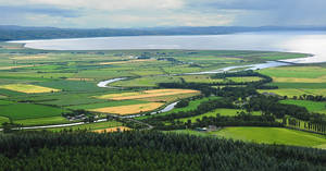 River Roe Estury + Lough Foyle by younghappy