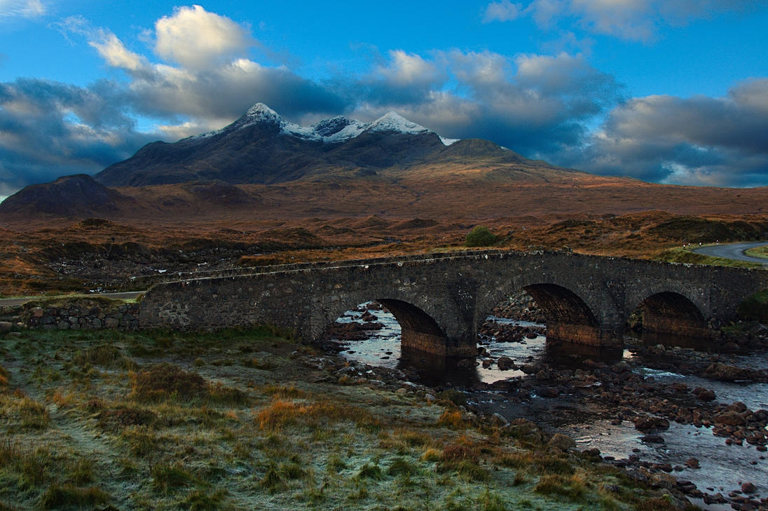 Sligachan Bridge, Isle of Skye by younghappy