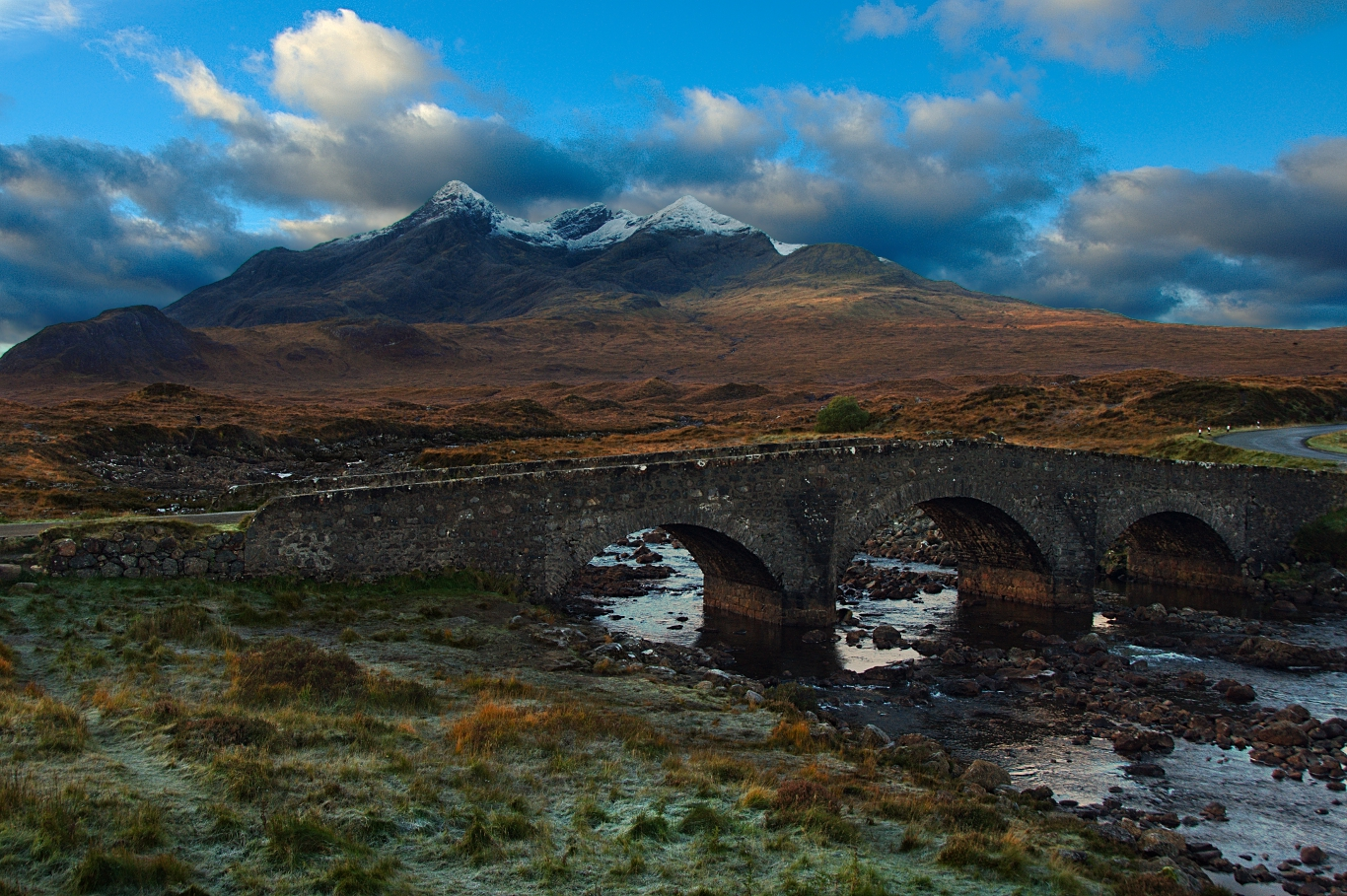 Sligachan Bridge, Isle of Skye by younghappy