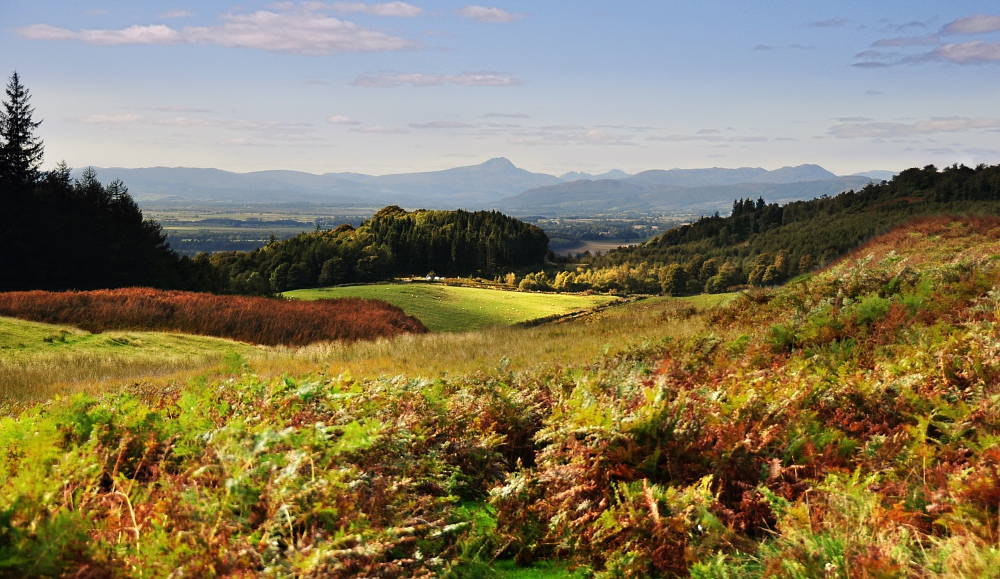 Forth + Teith Valley, Scotland by younghappy