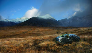 Skye, The Black Cuillin II by younghappy