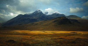 Skye, The Black Cuillin III by younghappy