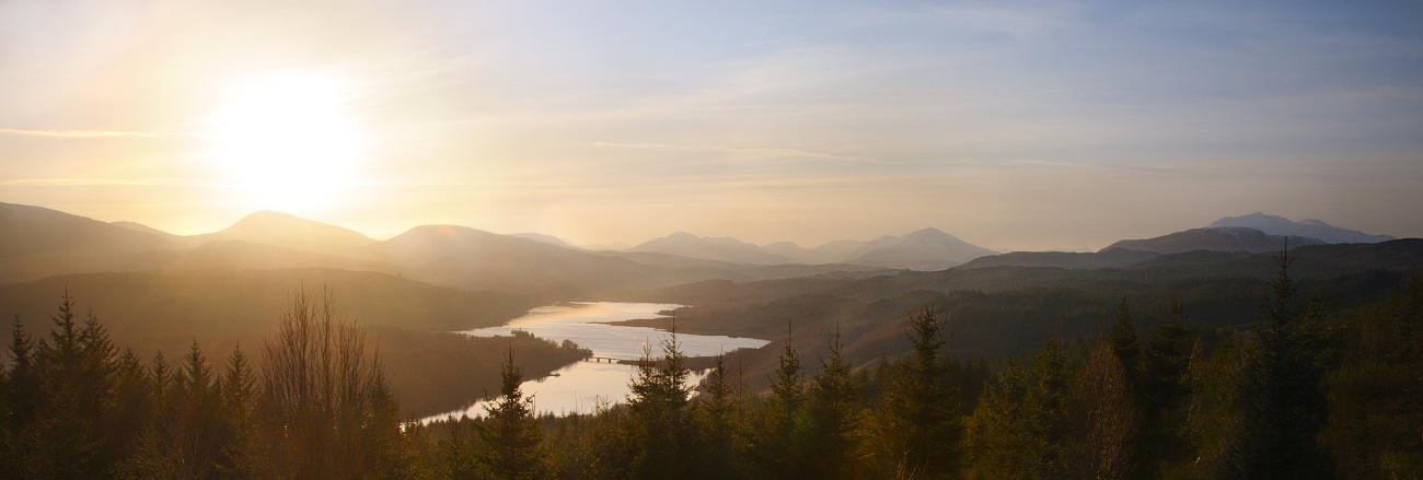 Loch Garry, Scotland II by younghappy