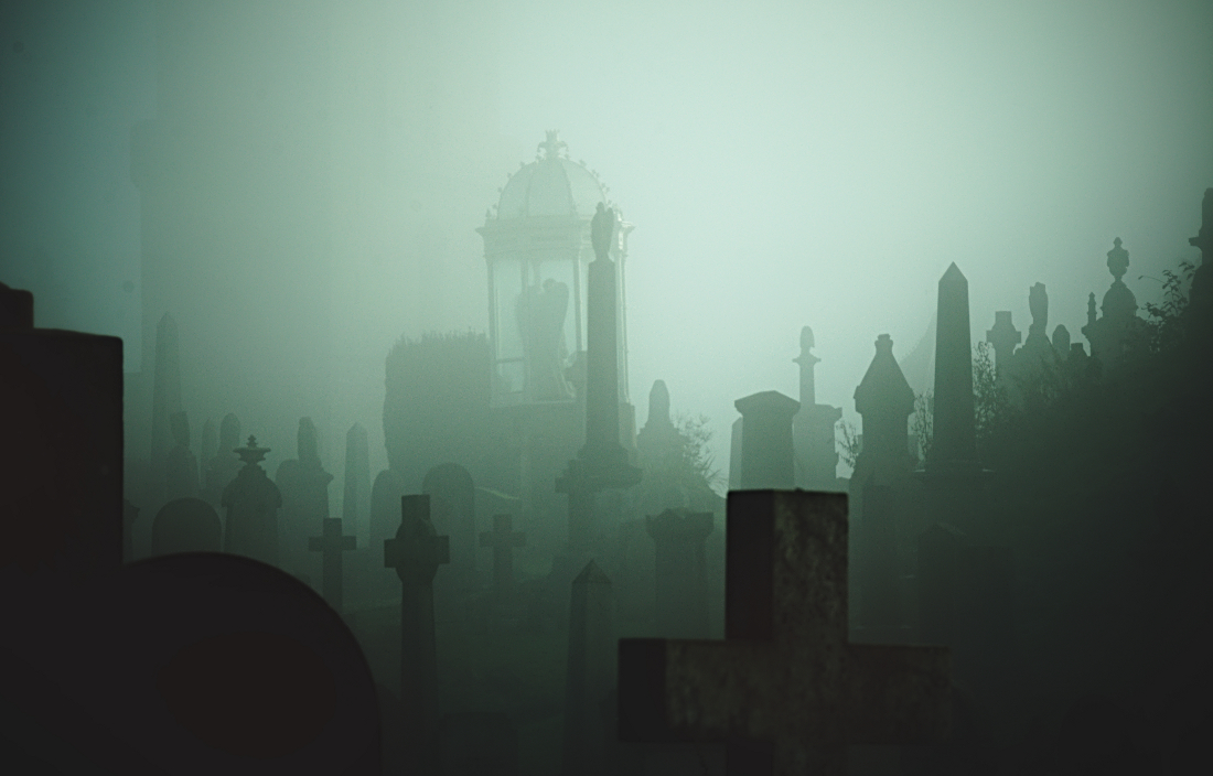 Old Graveyard, Stirling, Scotland by younghappy
