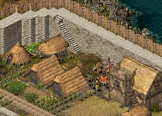 How To Rotate Building In Stronghold Crusader