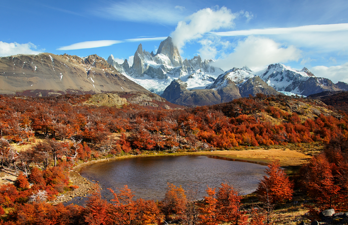 Monte Fitz Roy Patagonia Argentina By Younghappy On