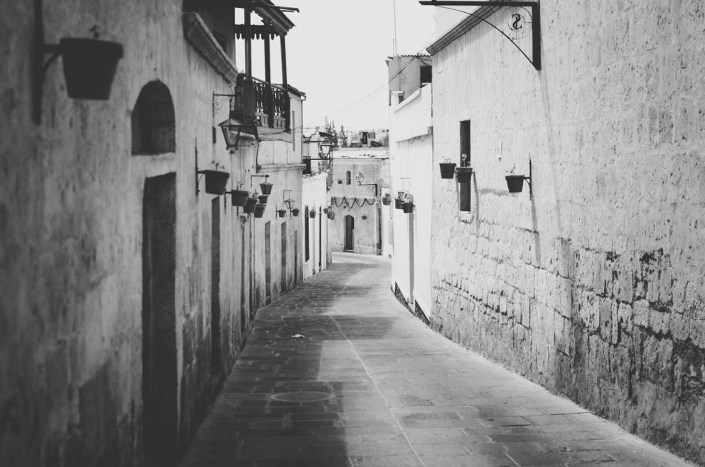 Barrio de San Lazaro, Arequipa, Peru