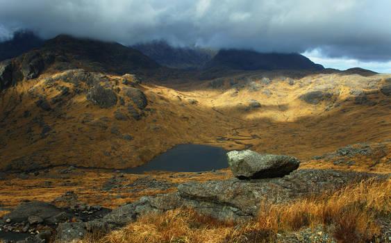 Loch a'Choire Riabhaich, Skye, Scotland