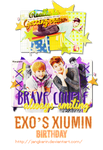 [Signature] EXO's Xiumin Birthday