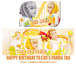 [Signature][Cover] Happy Birthday to EXO's Tao
