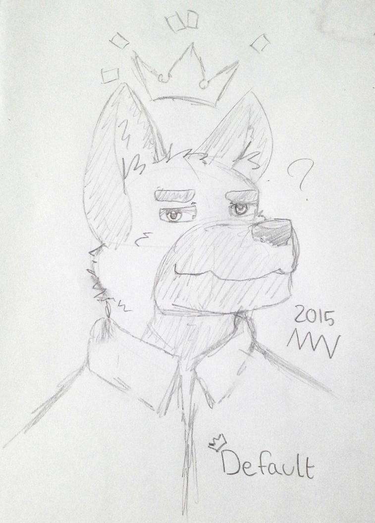 KingDefault by The-Mystic-Wolf