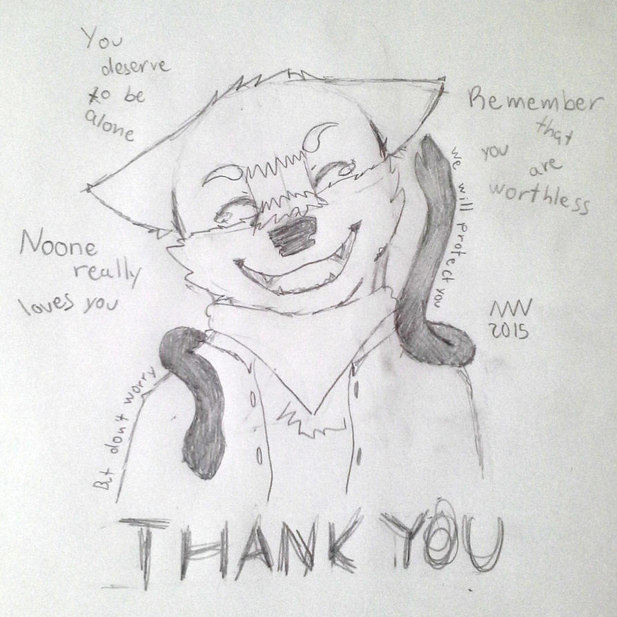 Thank you by The-Mystic-Wolf
