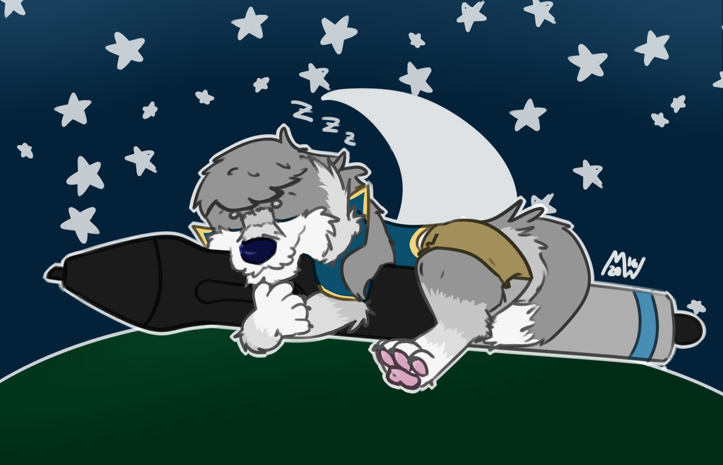 Good night by The-Mystic-Wolf