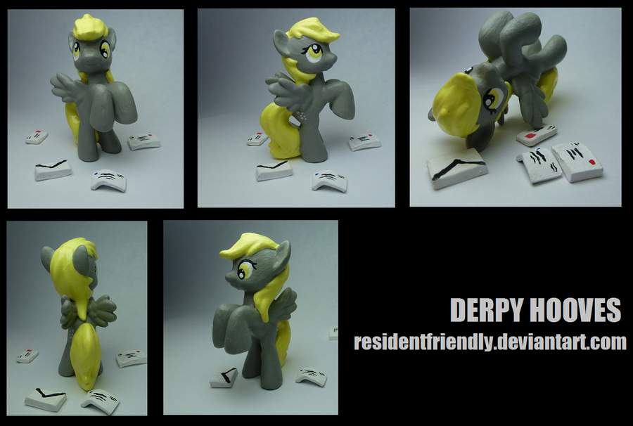 Derpy Hooves blind bag custom by Residentfriendly