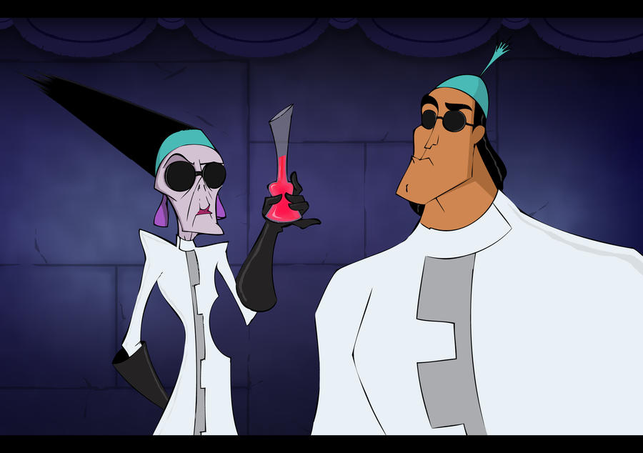 Yzma And Kronk By Dekrow On DeviantArt