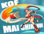 King of Fighters Mai Shiranui