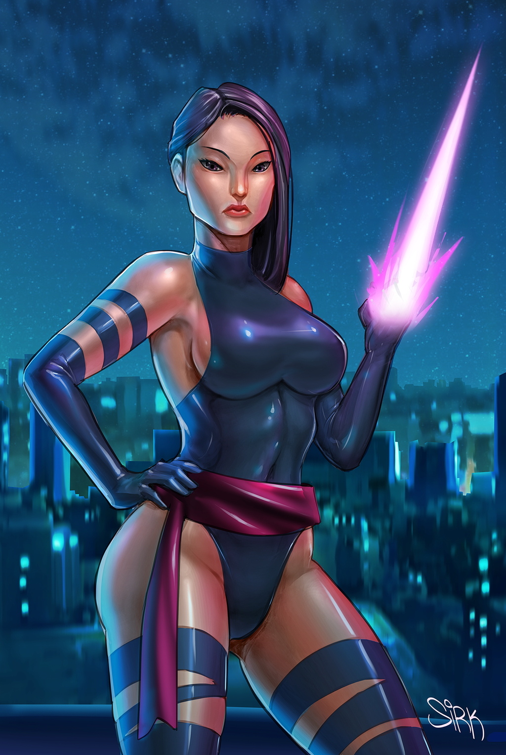 Marvel Psylocke Art Marvel X-men Psylocke ...