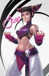 Street Fighter Juri Han