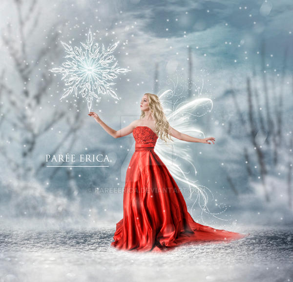 Snowflake Fairy by pareeerica