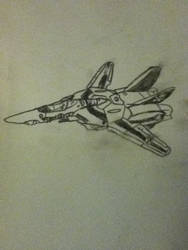 Robotech - VF-1S by tobyrox9