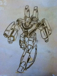 Robotech - VF-1S, Booster Pack by tobyrox9