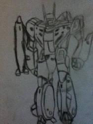 Robotech - VF-1J by tobyrox9