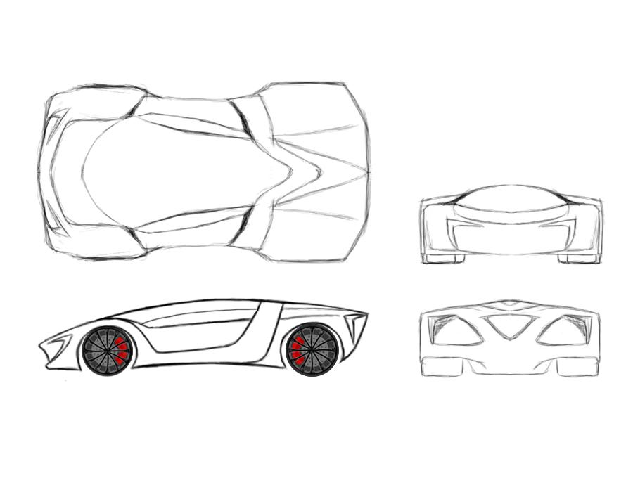 Cometa lxr blueprint by cometa autodesign on deviantart for How to make a blueprint