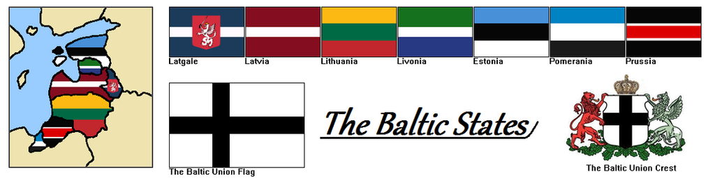 Baltic States by MattSteeletheVamp