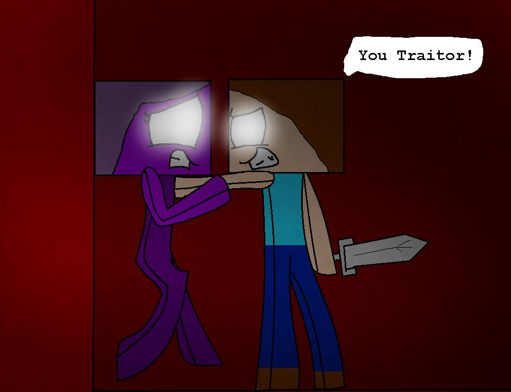 You Traitor! by TigerLillyPurpleGirl
