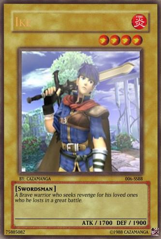 SSBB-Ike Card by Cazamanga