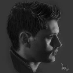 Jensen Ackles - Supernatural by willpower