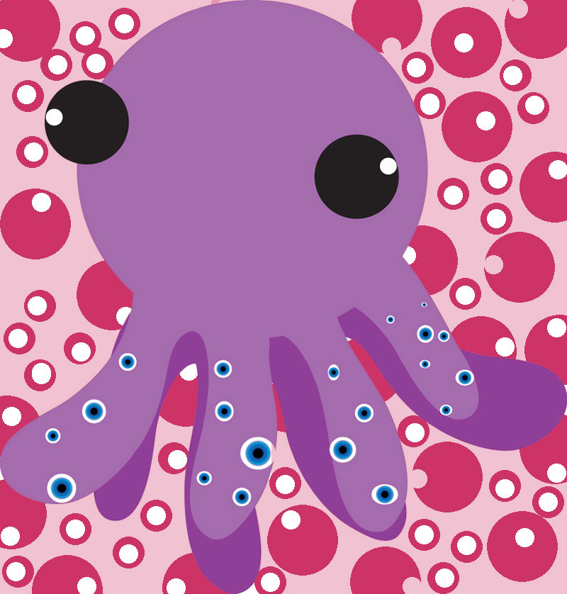 Cute Octopus Logo Cute Octopus by Chiphunny