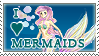 Stamp I love mermaids by vampire-neko