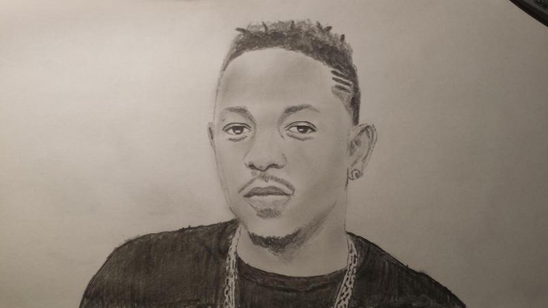 Kendrick Lamar Drawing...