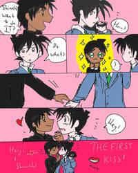 HEISHIN FIRST KISS COMIC SHORT by mimidan