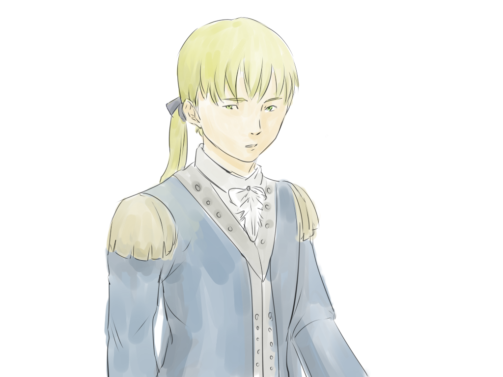 D'Eon from Le Chevalier D'Eon anime by mimidan