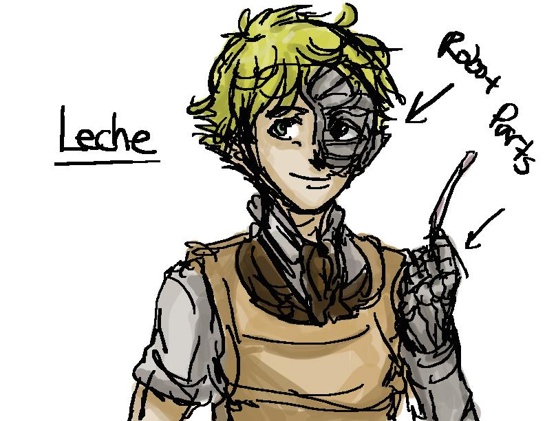 Leche by mimidan